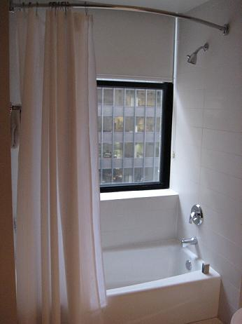 Window in the bathroom