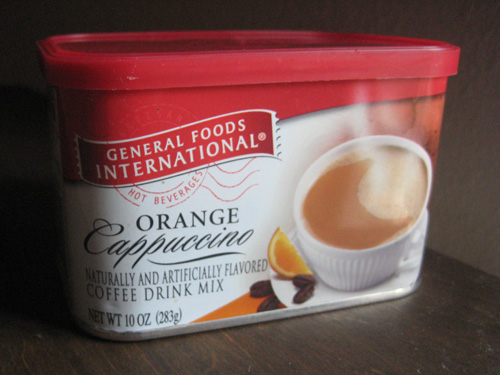 General Foods International Coffees, Orange Cappuccino