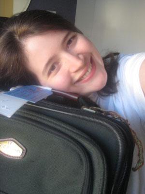 Luggage hug