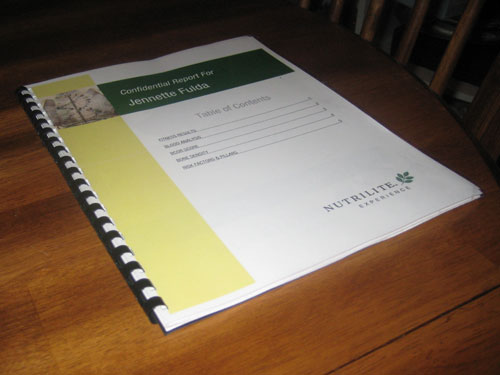 Nutrilite Health Assessment