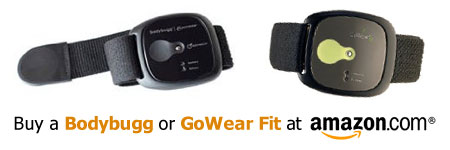 Purchase a Bodybugg or GoWear fit at Amazon