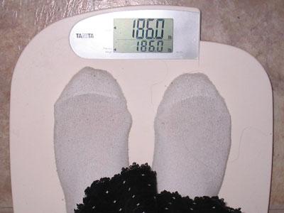 186, baby!