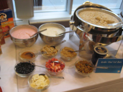 Oatmeal spread