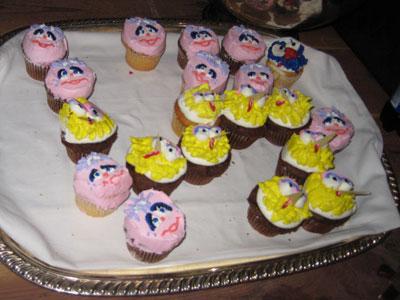 Mmmm, cupcakes