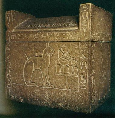 Cat sarcophagus