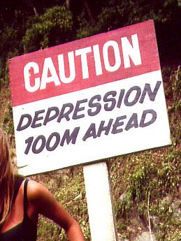 Caution: Depression 100M ahead