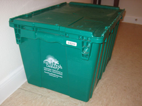 Farm Fresh Delivery crate